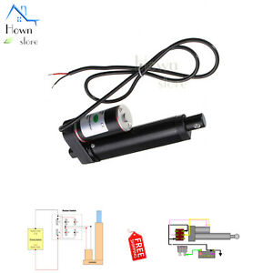 Multi function Linear Actuator Gear Motor Electric Lift Tor Opener 12v Dc 225lbs