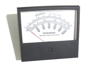 Hickok 539c Tube Tester Panel Meter New Style Replacement