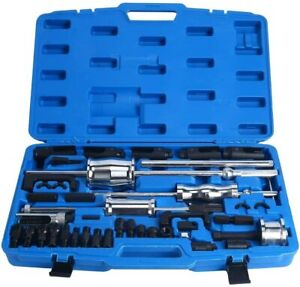 40pc Diesel Injector Puller Remover Master Tool Kit Bosch Denso Delphi Extractor
