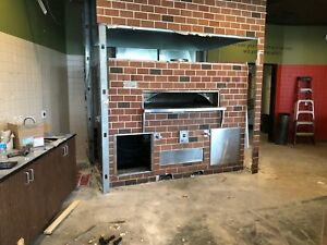 Wood Stone Fire Deck 9660 Commercial Pizza Oven And Exhausto Fan