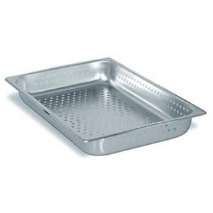 Steam Table Pan Perforated Full Size 4 h