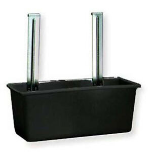 Silverware Bin Black For Stainless Steel Utility Carts