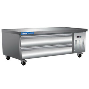 Central Exclusive 62 Refrigerated Equipment Stand 2 Drawers