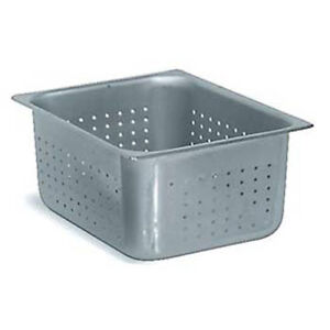 Perforated Steam Table Pan Half Size 2 1 2 h