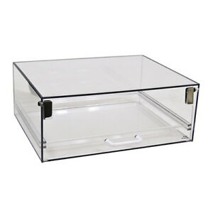 Stackable Bakery Case Single Tray Display 15 wx12 dx6 h