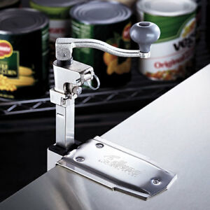 Nsf Medium Duty Can Opener Stainless Steel Clamp