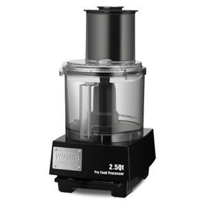 Waring Liquilock Food Processor 2 1 2 Qt Capacity Wfp11s