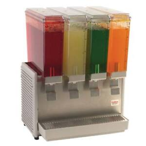 Classic Bubbler Cold Beverage Dispenser 4 Mini Bowls 20 1 2 w