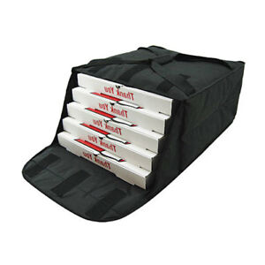 Insulated Pizza Bag Fabric Holds 4 20 Pizzas