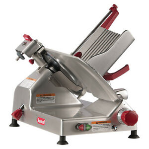 Manual Gravity Feed Slicer 10 Blade