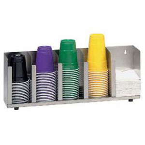 Lid Organizer 5 Stacks Stainless Steel For Standard And Jumbo Lids