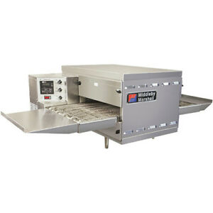 Digital Countertop Conveyor Oven Gas Single Stack 60 l