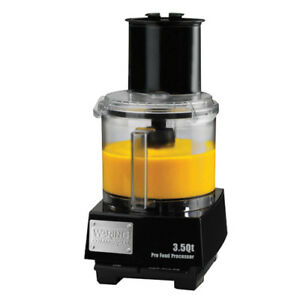 Waring Liquilock Food Processor 3 1 2 Qt Capacity Wfp14s