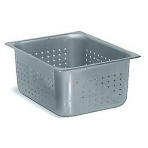Perforated Steam Table Pan Half Size 6 h