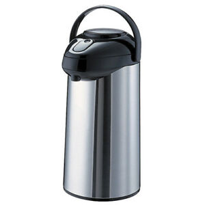 Glass Lined Airpot 3 Liter Capacity Pump Lid