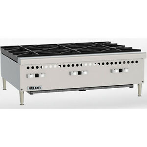 Restaurant Series Gas Hot Plate 36 w 6 Burners