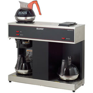 Commercial Coffee Brewer Pour o matic Brewer 3 Warmers