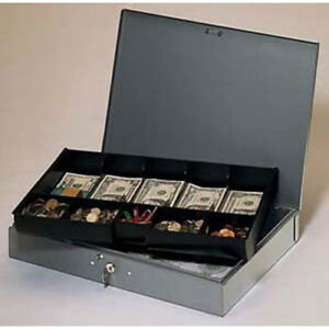 Cash Box With Tray