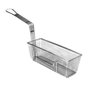 Fry Basket 4 wx11 1 4 dx4 h Right Hook