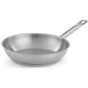 Fry Pan Optio Stainless Steel Plain Finish 12 1 2 diam