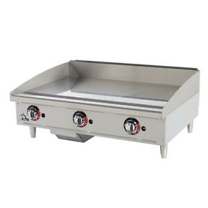 Commercial Griddle Gas Manual Controls 24 w