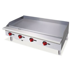 Central Restaurant Cgr 24 t 24 Griddle Thermostatic Controls