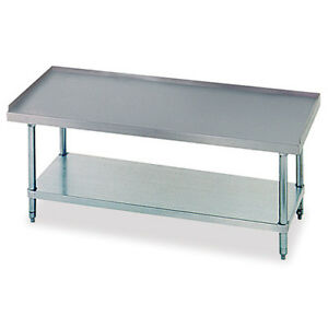 Equipment Stand With Undershelf 24 x24