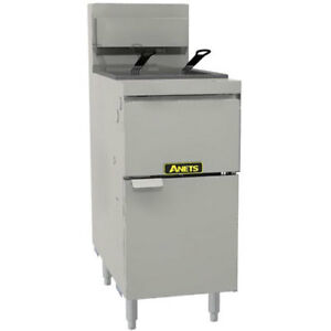 50 Lb Oil Capacity Gas Fryer 35 1 2 h