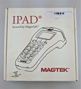 Magtek 30050200 Ipad Pin Pad W secured Magnesafe Card Reader Excellent Shape