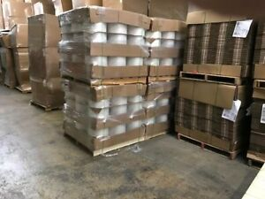 12 x2700 2 Mil Recycled Poly Tubing 27 Rolls Per Pallet