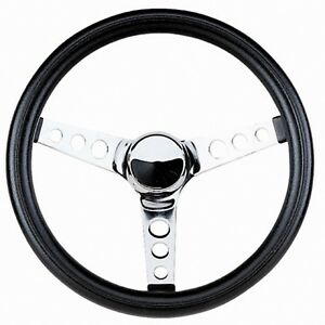 Grant 13 5 Classic Steering Wheel installation Kit mopar Horn Button For Charger