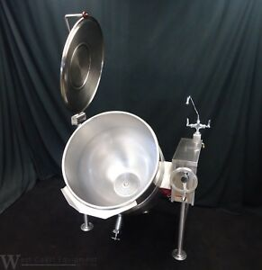 Beautiful Southbend Electric 40 Gallon Steam Jacketed Tilt Kettle Kelt 40 208v