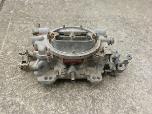 Edelbrock 1406 600 Cfm 4 Barrel Manual Choke Carburetor Chevy 350 4bbl Hot Rod