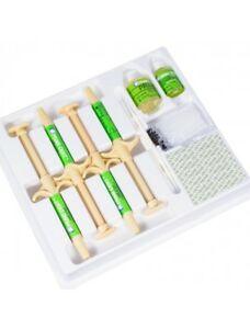 One Step Orthodontic Adhesive Bonding System Self Cure 4x5gm Syringes Prime dent