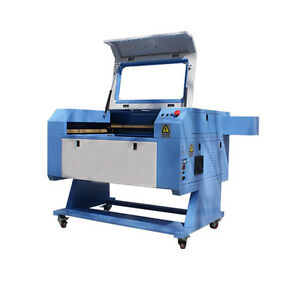 Usb Port 60w Co2 Laser Engraver And Cutting Machine With Rotary 500mm 700mm