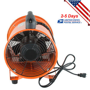 10 Extractor Fan Blower Ventilator Portable 2800r min High Rotation Exhaust Usa