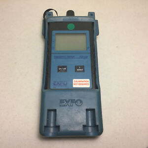 Exfo Fot 10a fot 12ax Fiberoptic Tester Optical Power Meter