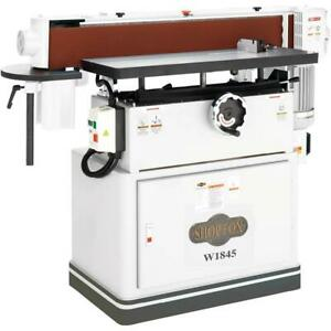 Shop Fox W1845 6 in By 108 in Oscillating Edge Sander 3 Hp