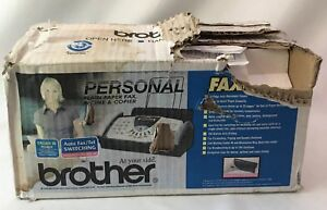 Brother Fax 575 Personal Plain Paper Fax Phone Copier Damaged Box