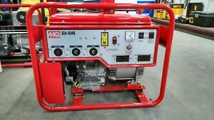 Multiquip Ga6hb Portable Generator With Honda Motor 120 240 Volt 6000 Watt