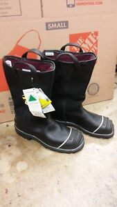 Firefighter Boots Leather 13 1 2