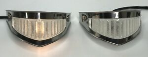 Pair 2 1951 1952 Ford F 1 Parking Light Turn Signal Assembly Pickup Truck
