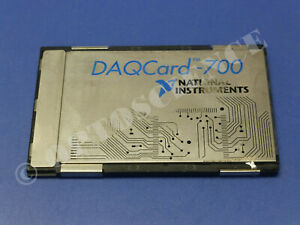 National Instruments Daqcard 700 Ni Daq Card Pcmcia Analog Input Multifunction