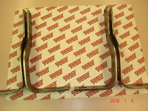 1948 1949 1950 Ford Pickup F1 Steel Rear Bumper Brackets Set Of 4 Stock Length