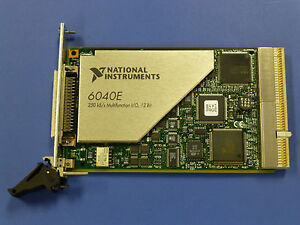 National Instruments Pxi 6040e Ni Daq Card Analog Input Multifunction