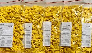 5 500 Piece Bags Totaling 2500 Pieces Yellow Wire Nuts wire Connectors twists