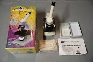Infinity By Meade Model 150 Microscope With Prepared Biological Slides open Box