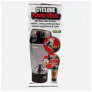 Cyclone Auto mixing Travel Mug W tornado Action For Sports Drinks