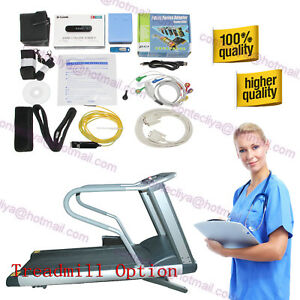 Wireless Stress Ecg ekg Analysis System exercise Stress Ecg Test Cd Software