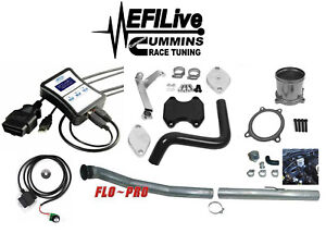 Efi Live Tuner 07 09 Dodge Ram 6 7l For Cummins Dpf Egr Delete Kit Glacie